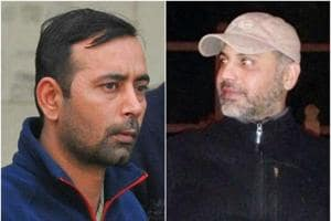 Akansh Sen became a victim to the tiff over women that started months ago between two friends —Harmehtab Singh Rarewala (Left) and Sher Singh Shera.