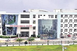 Classes stay suspended at Gian Sagar medical college as faculty's salary stir still on