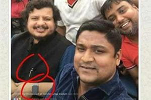 Photographs put up on social media pointing at the pen jutting out of Ritabrata Banerjee's pocket and his watch during the East Bengal-Mohun Bagan Derby faceoff in Siliguri on January 12.