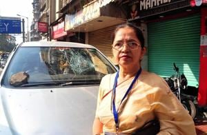 Poll update: Ulhasnagar candidate's car vandalised