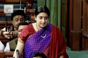 Delhi HC stays order on inspection of Smriti Irani's school records