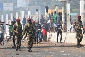Five killed in Guinea as police clampdown on student protests over...