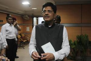 Piyush Goyal takes a power jab at Samajwadi Party