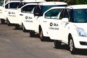 Over 1 lakh Ola & Uber drivers begin indefinite stir in Bengaluru
