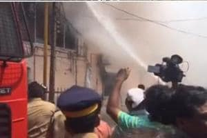 Kerala: 15 stores gutted after inferno rips through commercial street...