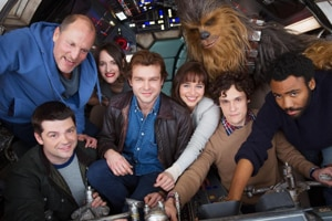 Han Solo: Here's your first look at the cast of the new Star Wars...