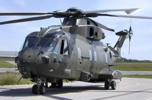 A file photo of the Agustawestland AW101 helicopter. The helicopters were not being procured as an in- house requirement of the Indian Air Force. These were VVIP Helicopters meant for exclusive use of VVIPs.