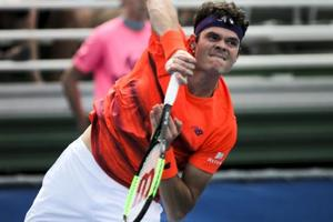 ATP Delray Beach Open: Milos Raonic advance, Bernard Tomic crashes out