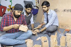 Ghaziabad students seek to educate underprivileged with spare change