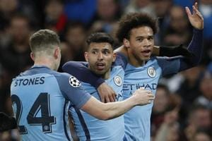 UEFA Champions League: Manchester City defeat AS Monaco in eight-goal...