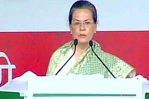Sonia Gandhi makes emotional appeal to Rae Bareli, Amethi voters,...