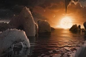 Nasa discovers 7 Earth-like planets orbiting a nearby star, could hold...