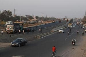 Flyover at Hero Honda Chowk  could be opened in two weeks