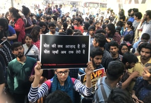 Ramjas protests highlights: Case of campus violence transferred to Crime Branch