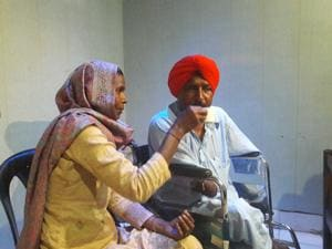AAP leader and Dalit icon Bant Singh Jhabbar attacked CPI(ML) Liberation for exploiting the cause of labourers for political mileage.