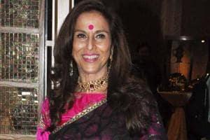 Columnist and author Shobhaa De