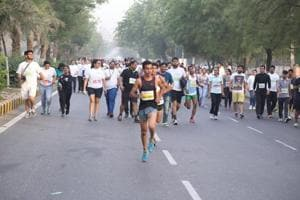 Run with Gurgaon's top cops at the Amity Half Marathon