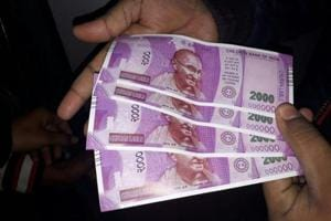 Serial number 00000: Fake 'Children's Bank of India' notes dispensed...