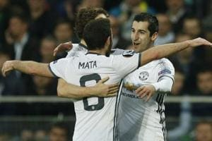 Europa League: Henrikh Mkhitaryan secures Manchester United win...