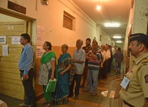 The surge in enthusiasm and participation could be seen in some areas where, at the close of voting at 5.30pm, voters had to be turned away, queues at polling booths snaked for hundreds of metres, and polling was completed only around 8pm.