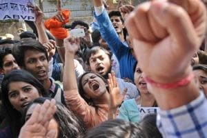 Ramjas College clashes : A day later