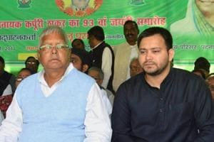 Lalu downplays clamour for Tejashwi as CM, says son still learning...