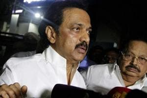 DMK's Stalin meets Gandhis in Delhi over AIADMK trust vote row in...