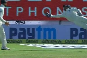 Wriddhiman, Superman or Jonty Rhodes? Keeper's wonder catch stuns...
