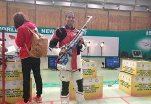 Pooja Ghatkar wins India a bronze on opening day of shooting World Cup