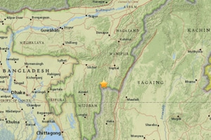 Earthquake of 5.2 magnitude strikes Manipur