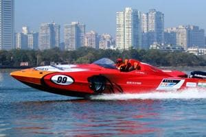 The P1 Panther powerboat is popularly used for water racing.