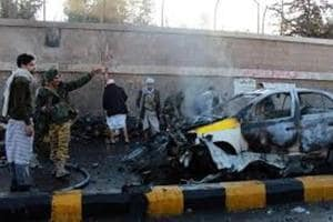 Yemen officials: 8 soldiers killed in suicide car bombing