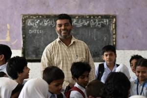 Wahid Shaikh, in prison for nine years in connection with the Mumbai rail blasts, now teaches at  Abdus Sattar Shuaib Primary School in Do Tanki, Mumbai.