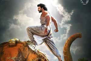 Baahubali 2: SS Rajamouli unveils a new poster with Prabhas doing a...