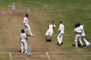 Cricket - India v Australia - First Test cricket match - Maharashtra Cricket Association Stadium, Pune, India - 24/02/17. Australia