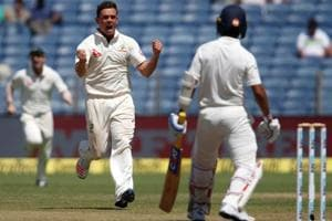 Steve O'Keefe, Peter Handscomb combine, make India stutter vs...
