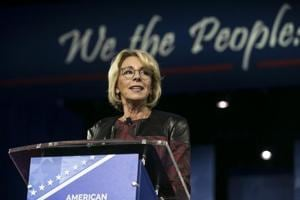 US education secretary defends Trump's reversal of transgender...