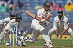 Steve Smith, Matt Renshaw slip through India's hands as Australia take...