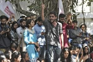 'The nation hears me now', says Umar Khalid as forced peace descends...