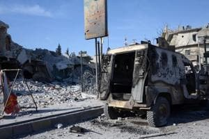 At least 29 killed as blast hits Syrian rebels fighting Islamic State:...
