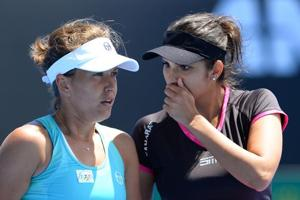 Sania Mirza-Barbora Strycova crash out in Dubai Open semifinal