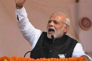 Prime Minister Narendra Modi addressed a rally in Imphal on Saturday....