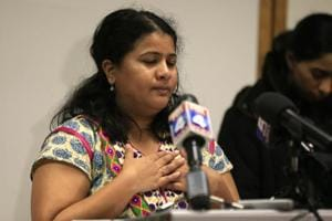 'I need an answer': Srinivas Kuchibhotla's wife holds press conference...