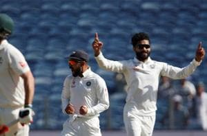 Ravindra Jadeja dares Steve Smith with mini-jig. See what happens next...