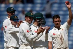 Australia return the favour, halt India's grand run with crushing Pune...