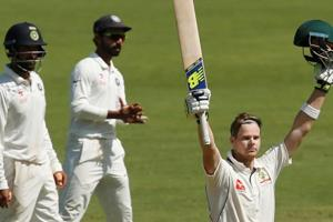 Steve Smith buoys Australia with 18th ton, fifth 100 vs India in Test...
