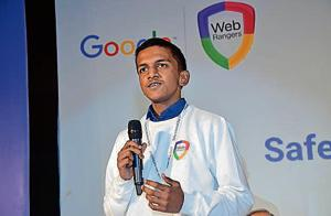 Noida boy to launch cyber safety app lauded by Google