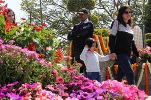 Pleasant weather ensures robust turnout on Day 1 of Gurgaon flower...