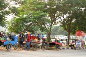 No challan drive against vendors, Chandigarh MC enforcement wing idle...