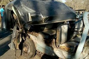 3 killed, 13 injured after 'illegal' taxi jeep collides with SUV on...